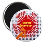 never giveup Magnet