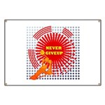 never giveup Banner