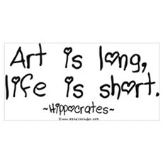 Art & Life Poster