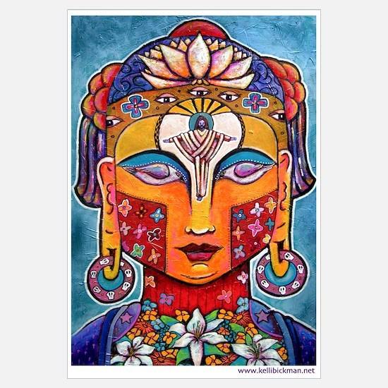 Kelli Bickman original 'Christ-Buddha'