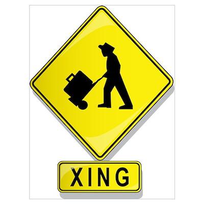 Luggage Handler XING Poster