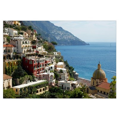Amalfi Coast Canvas Art