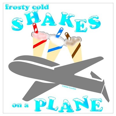 Shakes on a Plane Canvas Art