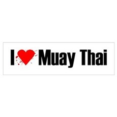 I love Muay Thai Poster