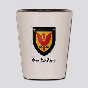 Clan MacAlister Shot Glass