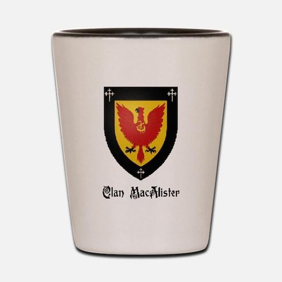 Clan MacAlister Shot Glass