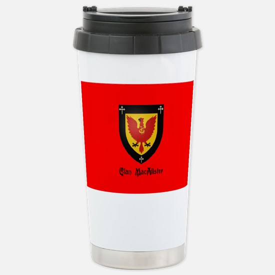 Clan MacAlister Stainless Steel Travel Mug