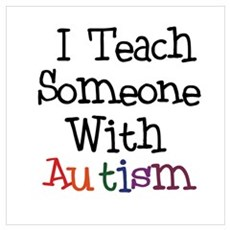 Autism Awareness Teacher Poster