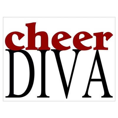 Cheer Diva Poster