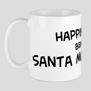 Happiness is Santa Monica Mug