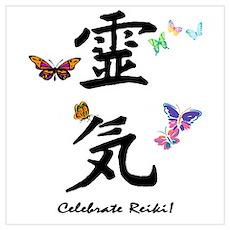 Celebrate Reiki Poster