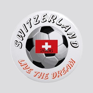 Switzerland world cup Ornament (Round)