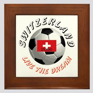 Switzerland world cup Framed Tile