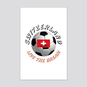 Switzerland world cup Mini Poster Print