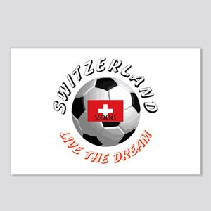 Switzerland world cup Postcards (Package of 8)