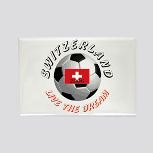 Switzerland world cup Rectangle Magnet