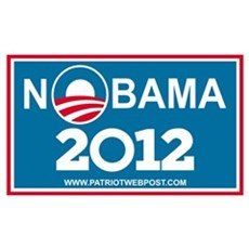 NoBama 2012 No Hope Poster