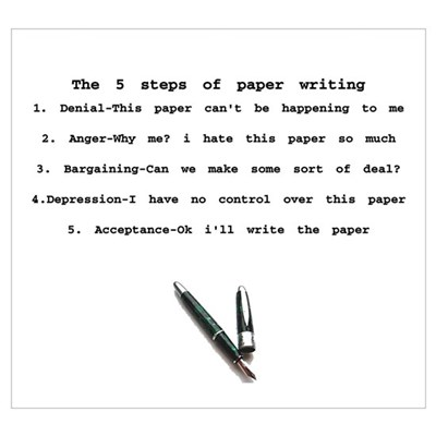 5 Steps Writing Poster