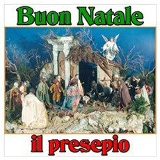 Buon Natale (Merry Christmas) Il Presepio Small Fr Poster