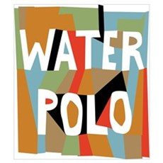 water polo MD Poster