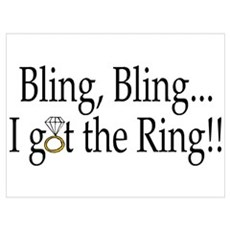Bling, Bling, I Got The Ring! Poster