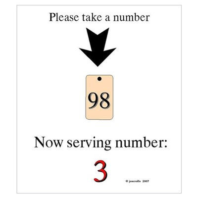 take a number funny