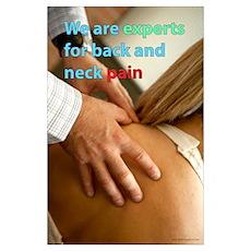 Expert for back pain Poster