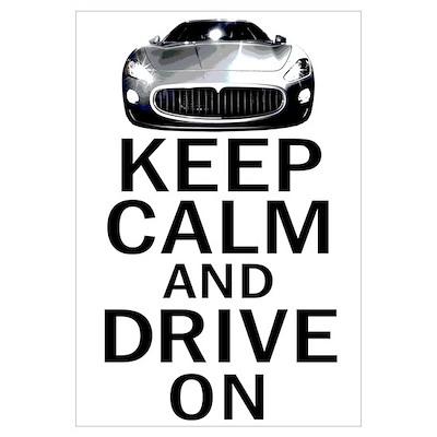 Maserati - Keep Calm Poster