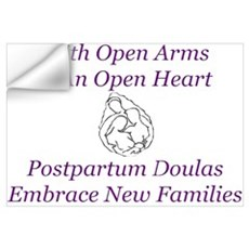 Postpartum Doula Embrace Wall Decal