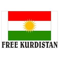 Free Kurdistan Poster