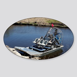 Florida swamp airboat 2 Sticker