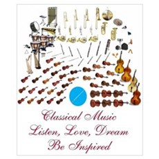 Classical Music-Be Inspired Poster