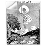 Joan of arc Wall Decals