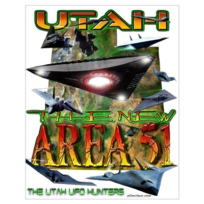 Utah The New Area 51 Poster