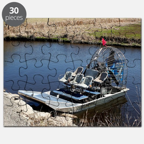 Florida swamp airboat 2 Puzzle