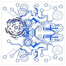 Circuitboard Poster