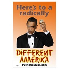Radically Different America Poster