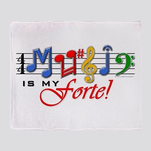 My Forte! Throw Blanket