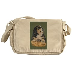 Adorable Pup Messenger Bag