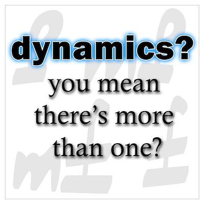 Dynamics? Poster