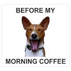 Coffee Yawn Poster
