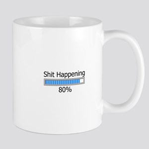 Shit Happening Progress Bar Mug