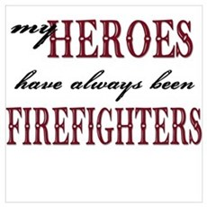 My Heroes have always been Fi Poster