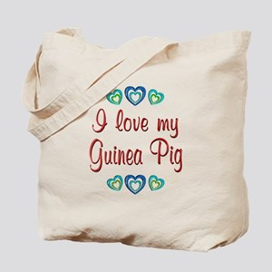 Love My Guinea Pig Tote Bag