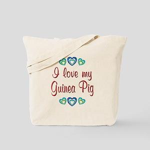 Love My Guinea Pig Tote Bag