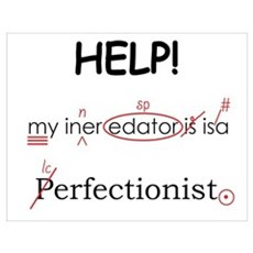 Perfectionist Editor Poster
