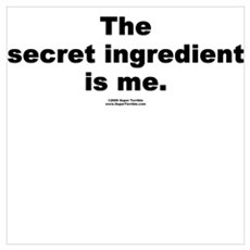 Secret Ingredient Canvas Art