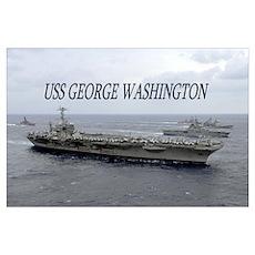 USS George Washington Poster