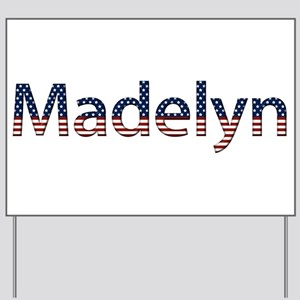 Madelyn Stars and Stripes Yard Sign