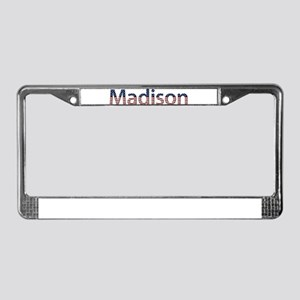 Madison Stars and Stripes License Plate Frame